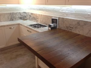 Rustic Look for Kitchen Bench Tops 1